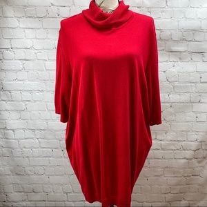 NWT Lane Bryant Elbow Sleeve knit Turtleneck 26/28